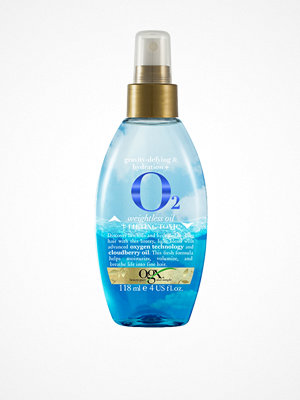 Hårprodukter - OGX O2 Weightless Oil + Lifting Tonic 118 ml Transparent