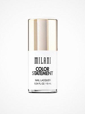 Naglar - Milani Color Statement Nail Lacquer White Bright