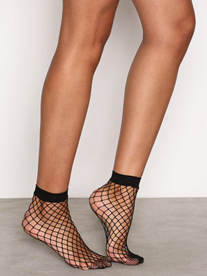 Strumpor - New Look Oversized Fishnet Socks Black