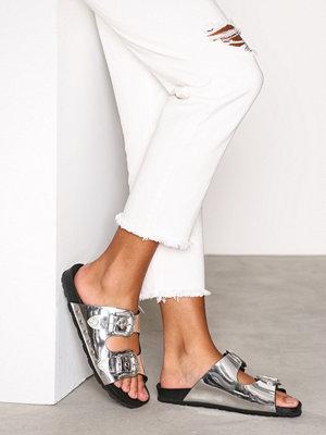 Tofflor - Topshop Buckle Sandals Silver