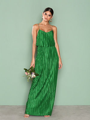 NLY Eve Pretty Pleats Gown Grön