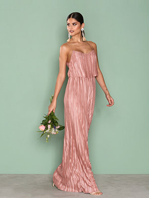 NLY Eve Pretty Pleats Gown Rose