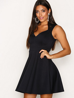 NLY One Sweetheart Skater Dress Navy