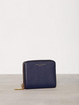 Plånböcker - Marc Jacobs Recruit Zip Card Case Midnight Blue