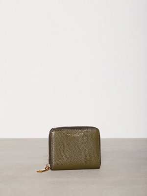 Plånböcker - Marc Jacobs Recruit Zip Card Case Grön