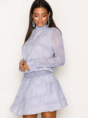 Hunkydory Vera Dress Blue