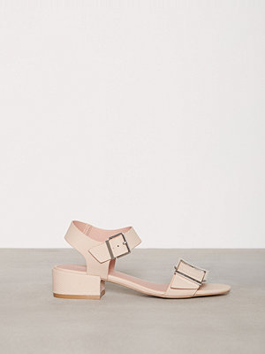 Topshop DARE 2Part Mid Sandals Light Beige