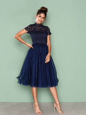 Chi Chi London Devon Dress Navy
