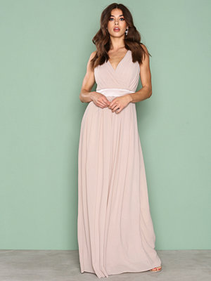 TFNC Killy Maxi Dress Light Beige