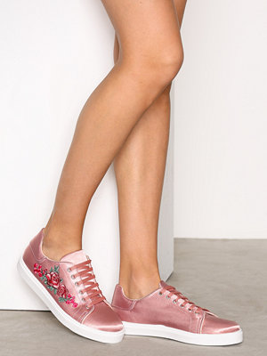 Sneakers & streetskor - Topshop Embroidery Trainers Light Pink