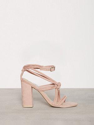 Pumps & klackskor - NLY Shoes Padded Heel Sandal Dusty Pink