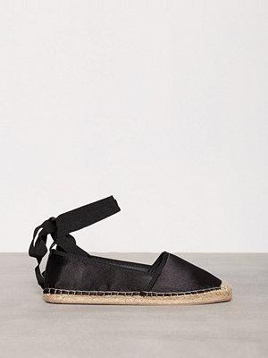 Tygskor & lågskor - NLY Shoes Lace Espadrilles Svart