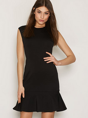 Polo Ralph Lauren Crewneck Flare Dress Black