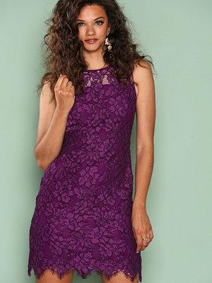 Lauren Ralph Lauren Melia Day Dress Plum