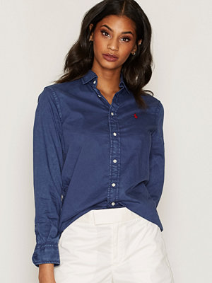 Polo Ralph Lauren Relaxed Long Sleeve Shirt Navy