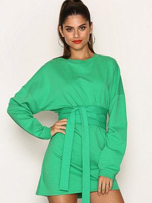 NLY Trend Waist Wrap Sweater Grön