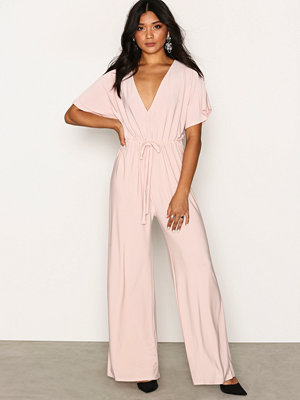 Jumpsuits & playsuits - NLY One Kimono Sleeve Jumpsuit Beige