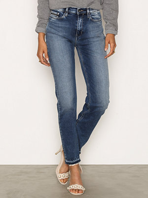 Calvin Klein Jeans HR Straight Ancle Jeans Waterfall
