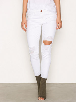 River Island Alannah Jeans White