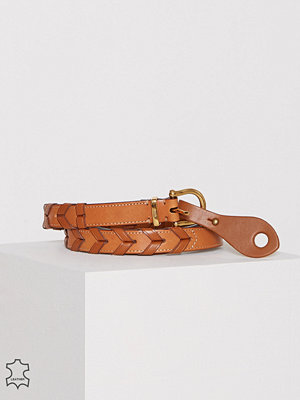 Bälten & skärp - Polo Ralph Lauren Skinny Casual Dress Belt Caramel