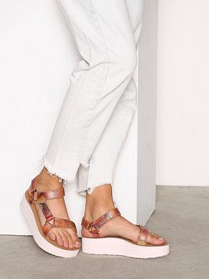 Sandaler & sandaletter - Teva Flatform Universal Jhene Aiko II Rosa