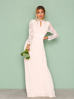TFNC Cassie Maxi Dress Champagne