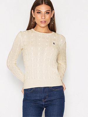 Polo Ralph Lauren Julianna-Classic-Long Sleeve-Sweater Cream