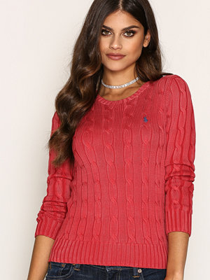 Polo Ralph Lauren Julianna-Classic-Long Sleeve-Sweater Red