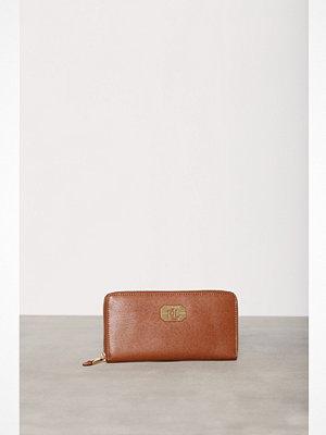 Plånböcker - Lauren Ralph Lauren Zip Wallet Tan