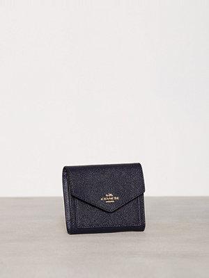Plånböcker - Coach Small Wallet Blå