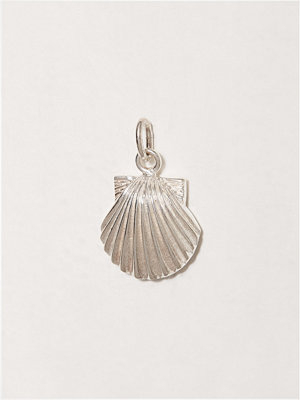 Blue Billie smycke Seashell Charm Silver