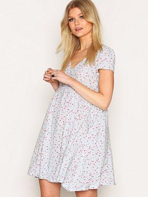 Denim & Supply Ralph Lauren Button Front Short Sleeve Dress Floral
