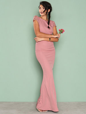 NLY Eve V Back Mermaid Gown Rose