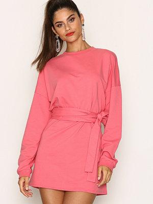 NLY Trend Waist Wrap Sweater Desert Rose