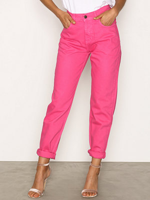 NLY Trend High Waist Vintage Denim Rosa