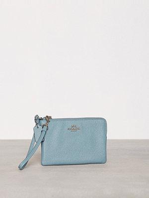 Plånböcker - Coach Crossgrain Small Wristlet Cloud