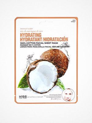 Ansikte - Kiss Professional New York Hydrating Sheet Mask Coconut