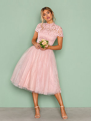 Chi Chi London Devon Dress Pink