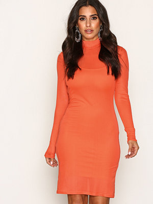 NLY One Mesh Dress Orange
