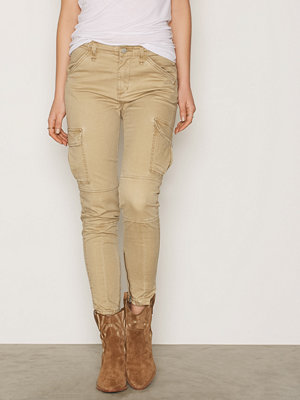 Denim & Supply Ralph Lauren omönstrade byxor Skinny Cargo Pant Tan