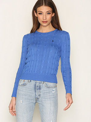 Polo Ralph Lauren Julianna Long Sleeve Sweater Blå