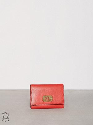 Plånböcker - Lauren Ralph Lauren 2 In1 Wallet Cayenne