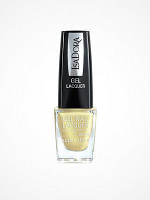 Naglar - IsaDora Gel Nail Lacquer Lemon