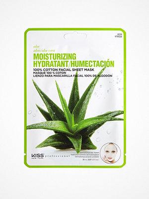 Ansikte - Kiss Professional New York Moisturizing Sheet Mask Aloe