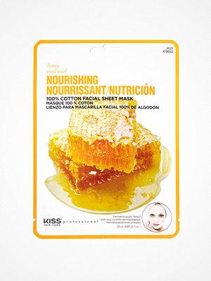 Ansikte - Kiss Professional New York Nourishing Sheet Mask Honey