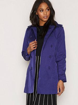 Trenchcoats - Lauren Ralph Lauren Double Breasted Jacket Steel/Blue
