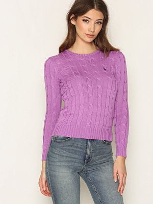 Polo Ralph Lauren Julianna Long Sleeve Sweater Lavender