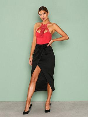 NLY One Wrap Over Skirt Svart