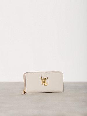 Plånböcker - Lauren Ralph Lauren Zip Wallet Beige