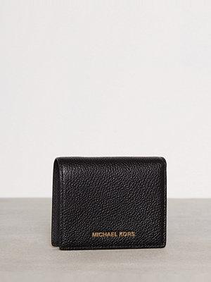 Plånböcker - MICHAEL Michael Kors Mercer Flap Card Holder Svart